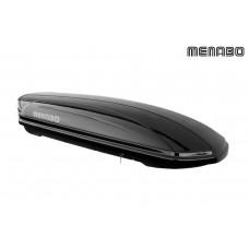 345 BOX BAULE DA TETTO MENABO MANIA 580 ABS NERO 225x89x37