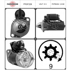 motorino avviamento PRSF228