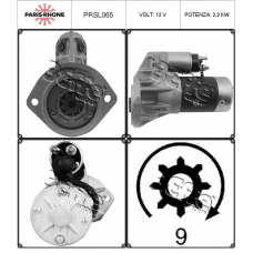 motorino avviamento PRSL065